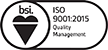 Padstone Consulting are ISO:9001:2015 accredited