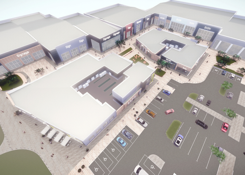 Padstone Projects:  									New Mersey Shopping Park, Speke